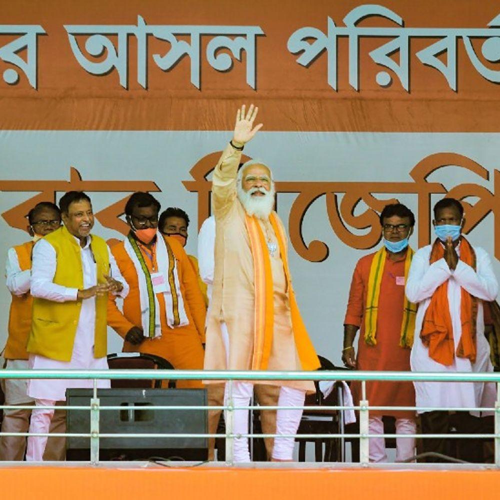 भास्कर एनालिसिस:जिस TMC को उखाड़ने का ऐलान, उसी से आए करीब 150 नेताओं को BJP ने टिकट दिए; 8 मुस्लिम भी उतारे, पर वहां, जहां जीतने की उम्मीद कम
