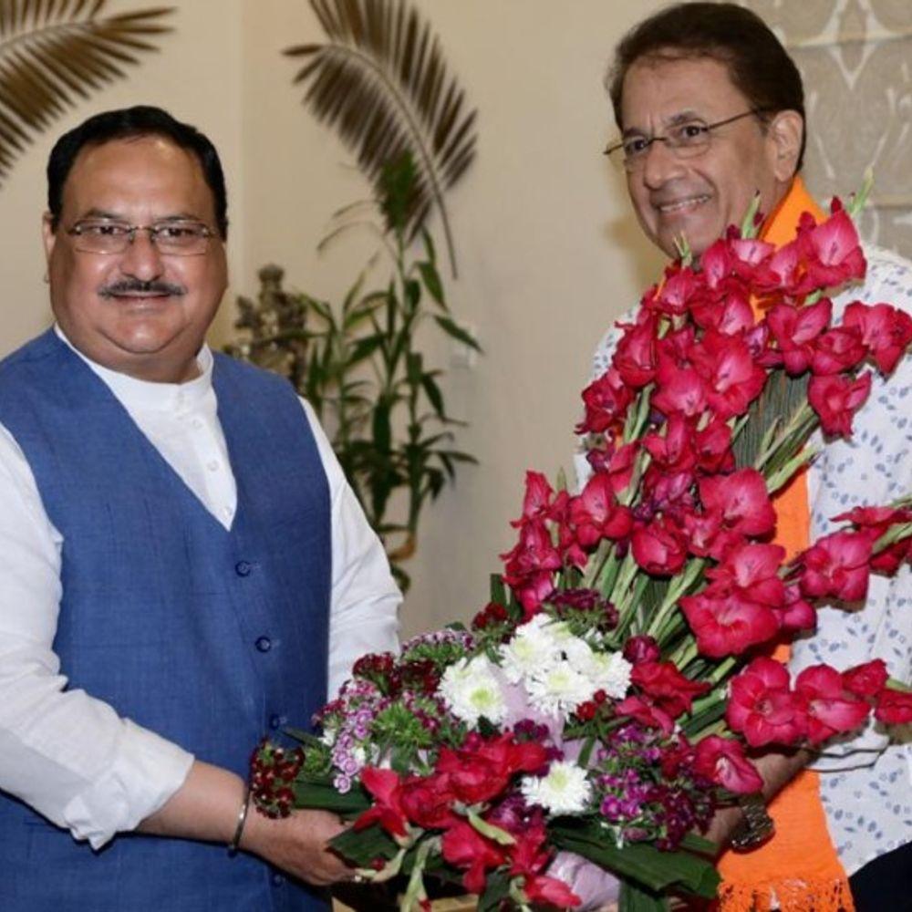 BJP की शरण में 'श्रीराम':रामायण सीरियल से मशहूर हुए अरुण गोविल BJP में शामिल, बंगाल में प्रचार कर सकते हैं