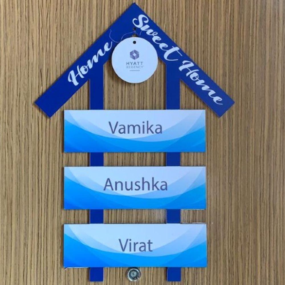 विराट के लिए बेटी है सबसे खास:होटल के कमरे के बाहर नेम प्लेट पर सबसे ऊपर वमिका का नाम लिखवाया, फिर अनुष्का और आखिर में अपना नाम दिया