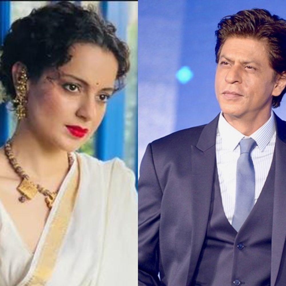 बॉलीवुड में कंगना के 15 साल:कंगना रानोट ने शाहरुख खान से की अपने करियर की तुलना, बोलीं-वे कॉन्वेंट में पढ़े थे और मुझे तो अंग्रेजी का एक शब्द भी नहीं आता था