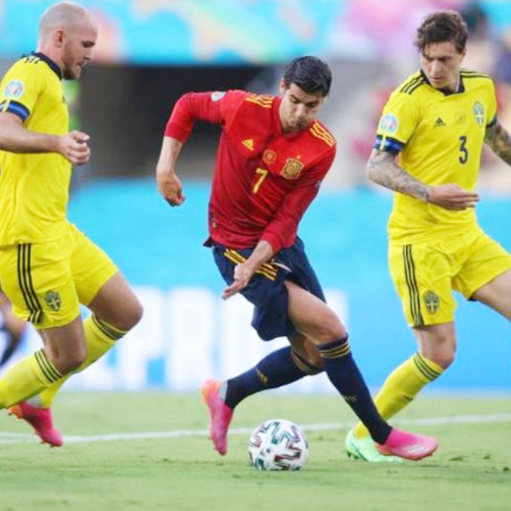 यूरो कप में स्पेन vs स्वीडन LIVE:हाफ टाइम तक स्कोर 0-0, स्वीडन के इसाक ने गोल का बेहतरीन मौका गंवाया; स्पेन के ओल्मो भी गोल से चूके