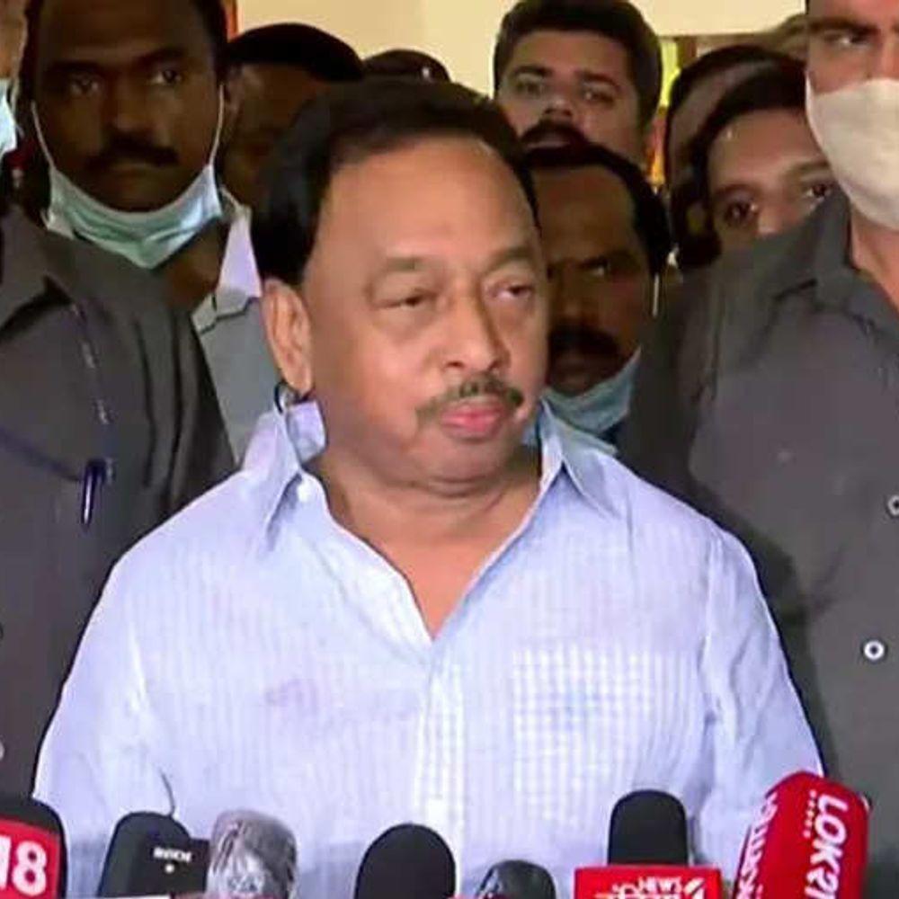 उद्धव पर राणे का पलटवार:केंद्रीय मंत्री ने कहा-अगर मैं गैंगस्टर था तो मुझे शिवसेना ने मुख्यमंत्री क्यों बनाया, अब बस चंद दिनों की मेहमान है यह सरकार