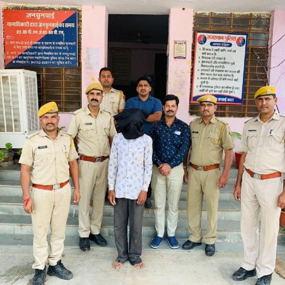 8 साल की बच्ची को अगवा किया:चिप्स का पैकेट दिलाकर उठा ले गया था तीन बच्चों का पिता; पुलिस ने 30 CCTV खंगाल कर 12 घंटे में गिरफ्तार किया