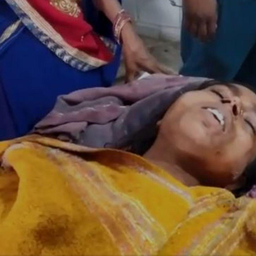 पारिवारिक विवाद में पत्नी को मारी गोली:दरभंगा में रात में सो रही पत्नी को पति ने मारी गोली, 3 राउंड फायरिंग, पत्नी अस्पताल में भर्ती, आरोपी पति फरार