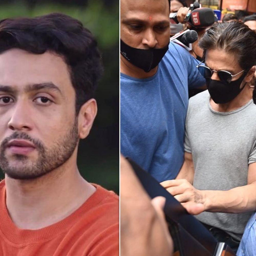 आर्यन खान ड्रग केस:शाहरुख के बचाव में आए अध्ययन सुमन, बोले- 'अगर आर्यन ड्रग लेता भी है तो शाहरुख को इसका खामियाजा क्यों भुगतना पड़ रहा है'