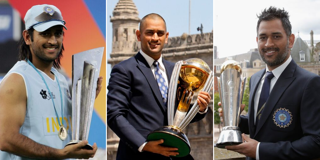 ધોનીની કેપ્ટનશિપમાં ભારતે કુલ 3 ICC ટૂર્નામેન્ટની ટ્રોફી જીતી છે.