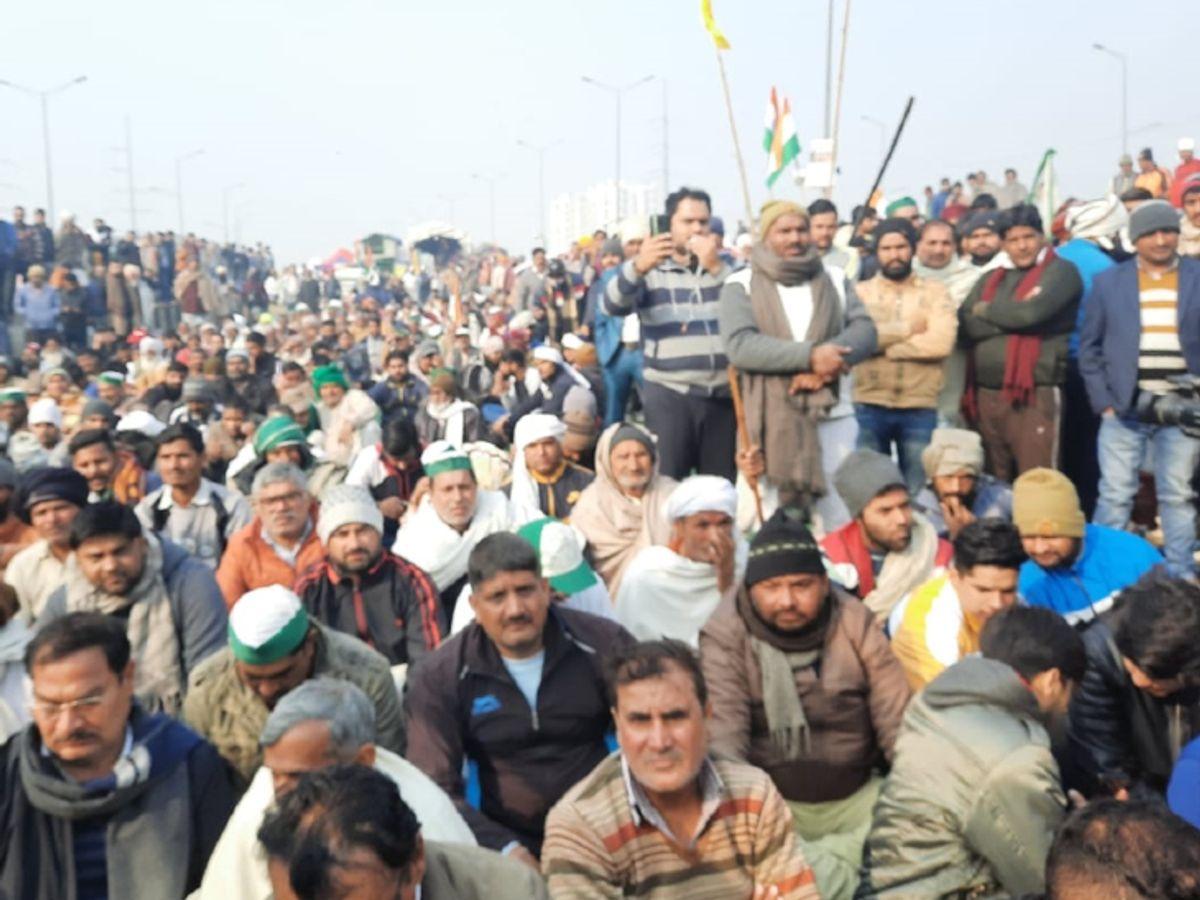 Farmers Protest: Kisan Andolan Delhi Burari LIVE Update | Haryana Punjab  Farmers Delhi Chalo March Latest News Today 29 January | उत्तर प्रदेश और  हरियाणा के किसान गाजीपुर बॉर्डर पहुंच रहे ...