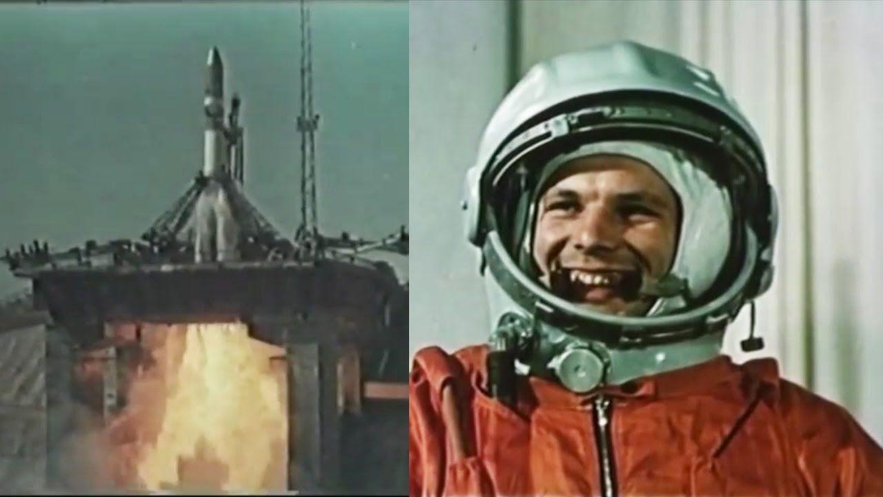 यूरी गगारिन को 12 अप्रैल 1961 को अंतरिक्ष में भेजा गया था।