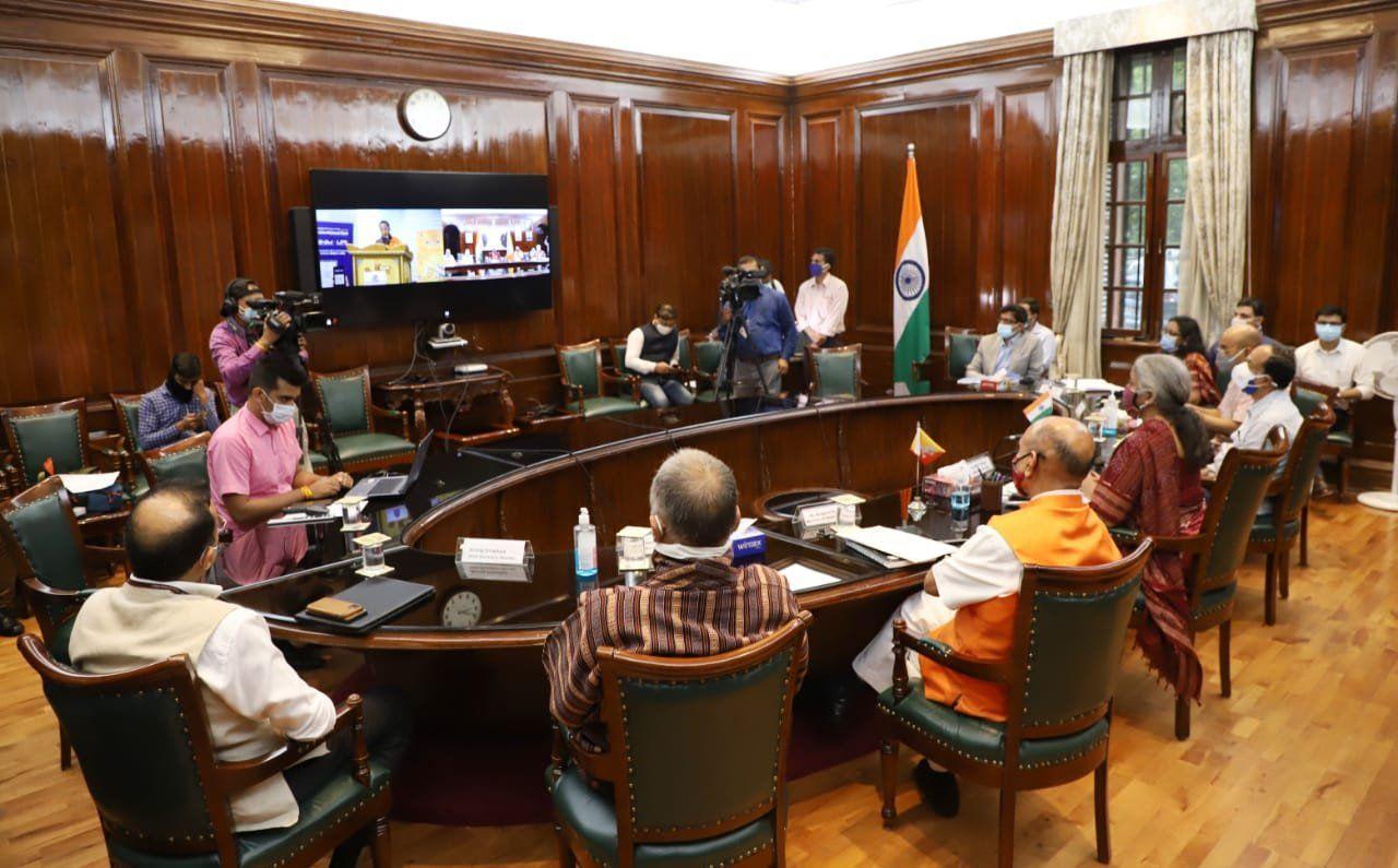 वर्चुअल लॉन्च में भूटान की रॉयल मॉनेटरी अथॉरिटी के गवर्नर दाशो पेंजोरे भी शामिल हुए।