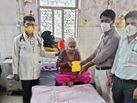 डाक्टरों के निर्देशों का पालन कर 80 साल की कांतिदेवी ने दी कोरोना को मात, स्वस्थ होेने पर मिली अस्पताल से छुट्टी|राजस्थान,Rajasthan - Dainik Bhaskar