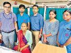 रोबोट ने कान के पीछे से 6 घंटे ऑपरेशन कर कैंसर के मरीज की जीभ से गांठ निकाली|देश,National - Dainik Bhaskar