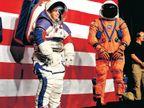 नासा ने अंतरिक्ष यात्रियों के लिए स्पेस सूट लॉन्च किए, 2024 के चंद्र मिशन में इनका इस्तेमाल होगा  - Dainik Bhaskar
