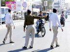 हेल्मेट, पीयूसी, एचएसआरपी नहीं, तो एक नवम्बर से जुर्माना|गुजरात,Gujarat - Dainik Bhaskar
