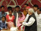 अखिलेश ने खजांची का बर्थडे मनाया; मोदी सरकार से सवाल, बैंकों की व्यवस्था क्यों खराब हुई?|लखनऊ,Lucknow - Dainik Bhaskar