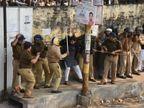 नागरिकता कानून: अलीगढ़ यूनिवर्सिटी में हिंसक झड़प के बाद 21 गिरफ्तार, मंगलवार तक इंटरनेट बंद लखनऊ,Lucknow - Dainik Bhaskar