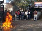 दुष्कर्म पीड़ित ने दम तोड़ा, 6 दिन पहले उन्नाव एसपी ऑफिस के बाहर खुद को लगाई थी आग|कानपुर,Kanpur - Dainik Bhaskar