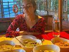 सारा अली खान ने बेस्ट फ्रेंड काम्या के साथ मनाया क्रिसमस, फोटो हुए वायरल|बॉलीवुड,Bollywood - Dainik Bhaskar