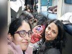 2 महिला कैप्टन ने ट्रेन में यात्री की डिलीवरी कराई, सेना ने बताया- मां और बेटी दोनों स्वस्थ| - Dainik Bhaskar