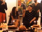 बोनी कपूर की बेटी अंशुला ने परिवार के साथ मनाया 27वां जन्मदिन|बॉलीवुड,Bollywood - Dainik Bhaskar