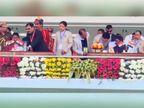 हेमंत सोरेन ने दूसरी बार मुख्यमंत्री पद की शपथ ली, राहुल गांधी के अलावा 3 राज्यों के सीएम समारोह में मौजूद रहे|रांची,Ranchi - Dainik Bhaskar