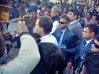 हेमंत सोरेन के शपथ ग्रहण में राहुल गांधी, ममता बनर्जी, तेजस्वी समेत अन्य नेता पहुंचे|रांची,Ranchi - Dainik Bhaskar