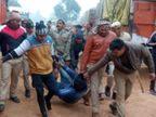 कौशांबी में बमबाजी कर कैश वैन लूटने की कोशिश, पुलिस मुठभेड़ में एक बदमाश घायल|इलाहाबाद,Allahabad - Dainik Bhaskar