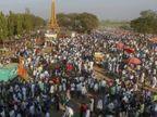 भीमा कोरेगांव में युद्ध की 202वीं बरसी पर 5 लाख लोग जमा हुए, ऐहतियातन इंटरनेट बंद|देश,National - Dainik Bhaskar