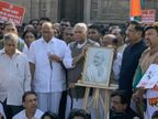 यशवंत सिन्हा ने मुंबई से 3000 किमी की शांति यात्रा शुरू की, बोले- गांधी की दोबारा हत्या नहीं होने देंगे मुंबई,Mumbai - Dainik Bhaskar