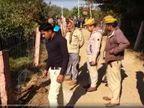 दुकान जा रहे युवक की धारदार हथियार से वार कर हत्या, पहचान छिपाने के लिए पत्थर से कुचला चेहरा|जयपुर,Jaipur - Dainik Bhaskar