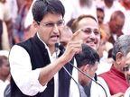 पूर्व केंद्रीय मंत्री दीपेंद्र हुड्डा ने कहा- आरएसएस के एजेंडे पर काम कर रही सरकार, उसे शाहीन बाग की परवाह नहीं|वाराणसी,Varanasi - Dainik Bhaskar