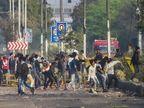 उत्तर-पूर्वी दिल्ली की कई जगहों से पलायन शुरू, मुनादी कर लोगों को घर से बाहर न निकलने की चेतावनी दे रही पुलिस|दिल्ली + एनसीआर,Delhi + NCR - Dainik Bhaskar