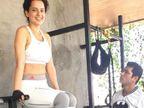 'थलाइवी' के लिए 70 किलो हुआ वजन, अब 2 महीने में 20 किलो वजन कम करेंगी कंगना रनोट|बॉलीवुड,Bollywood - Dainik Bhaskar
