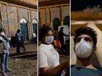 'भूल भुलैया 2' के सेट में दिखा कोरोनावायरस का डर, मास्क पहनकर पूरी टीम कर रही है शूट|बॉलीवुड,Bollywood - Dainik Bhaskar