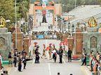 कोरोना का असर: अटारी-वाघा बॉर्डर के जरिए आज से भारत नहीं आ सकेंगे पाकिस्तानी अमृतसर,Amritsar - Dainik Bhaskar