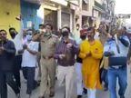 डीएम-एसपी ने शंख-ताली बजाते हुए निकाले तो भड़के वरुण गांधी व फराह खान, लिखा- मर्खू कहीं के... लखनऊ,Lucknow - Dainik Bhaskar