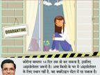 होम आइसोलेशन का मतलब यह नहीं कि इसका पालन करने वाला कोरोना का मरीज है, बचाव के लिए यह जरूरी| - Dainik Bhaskar