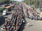 3 दिन में दूसरे राज्यों से 1.5 लाख लोग उत्तर प्रदेश आए, योगी बोले- इन्हें 14 दिनों के लिए क्वारैंटाइन किया जाएगा|लखनऊ,Lucknow - Dainik Bhaskar