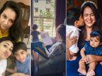 मौनी रॉय से समीरा रेड्डी तक बच्चों के साथ क्वालिटी टाइम बिता रहे हैं सेलेब्स बॉलीवुड,Bollywood - Dainik Bhaskar