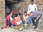 दाे दिन से भूखी थी बड़ी खंजरपुर की तीन अनाथ बच्चियां पीएमओ से आया फोन तो एक घंटे में पहुंच गया भाेजन भागलपुर,Bhagalpur - Dainik Bhaskar