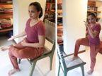 कुर्सी की मदद से पेट की चर्बी घटाएं, सेलेब न्यूट्रिशनिस्ट से जानिए कैसे पैरों के मूवमेंट से कम करें वजन|लाइफ & साइंस,Happy Life - Dainik Bhaskar
