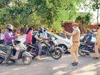 नोएडा के 22 कोरोना हॉट स्पॉट वाले इलाके किए सील, घरों से बाहर निकलने पर पूरी तरह पाबंदी|दिल्ली + एनसीआर,Delhi + NCR - Dainik Bhaskar