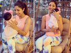 दो महीने की बेटी के साथ खेलते दिखीं शिल्पा शेट्टी, बताया कि '15' नंबर उनके लिए क्यों लकी बन गया बॉलीवुड,Bollywood - Dainik Bhaskar