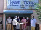 आईएसबी ने कोरोना के खिलाफ लड़ाई में प्रशासन को अपना समर्थन दिया|चंडीगढ़,Chandigarh - Dainik Bhaskar