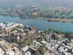 नेवज का पानी साफ होने से बढ़े जलीय जीव, नरसिंहगढ़ का तालाब भी दिखने लगा साफ राजगढ़ (भोपाल),Rajgarh (Bhopal) - Dainik Bhaskar