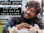 कैंसर से जूझ रहे हरफनमौला एक्टर इरफान खान का मुंबई में निधन, चार दिन पहले ही मां को खोया था|बॉलीवुड,Bollywood - Dainik Bhaskar