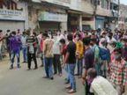 अब तक 3698 केस: सरकार ने ट्रांसफर पर रोक लगाई, मुरादाबाद में घर भेजने को लेकर श्रमिक सड़क पर|देश,National - Dainik Bhaskar
