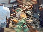 नशा, लापरवाही और तेज रफ्तार ने ले ली 6 जान, प्रवासी मजदूरों को लेकर भोपाल से यूपी के सिद्धार्थनगर जा रहा था ट्रक|छतरपुर (मध्य प्रदेश),Chhatarpur (MP) - Dainik Bhaskar