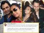 तलाक की खबरों के बीच शुरू हुई नवाजुद्दीन सिद्दीकी की पत्नी के अफेयर की चर्चा, अंजना ने ट्विटर पर दी सफाई|बॉलीवुड,Bollywood - Dainik Bhaskar