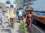 न प्रियंका गांधी आईं और न ही यूपी सरकार की अनुमति मिली, 29 घंटे बाद बॉर्डर से बैरंग लौटीं बसें|भरतपुर,Bharatpur - Dainik Bhaskar