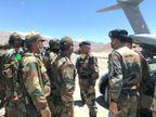 चीन के साथ तनाव के बीच सेना प्रमुख नरवणे ने लद्दाख का दौरा किया, 3 हफ्ते से क्षेत्र में टकराव की स्थिति है देश,National - Dainik Bhaskar